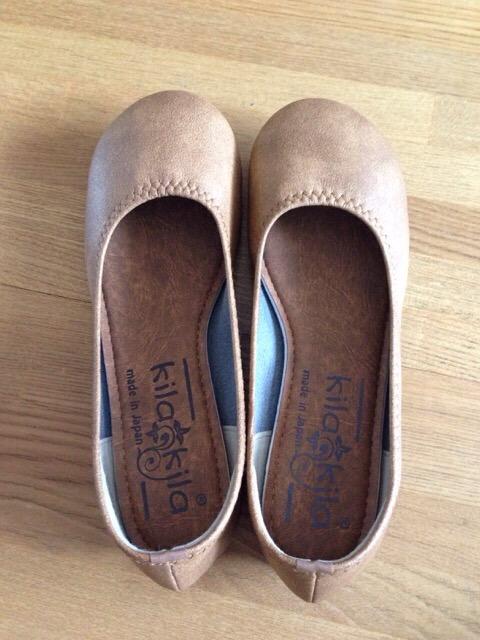 なかなか売ってない小さいサイズの靴をネットで購入。とても履き安くて疲れない!
